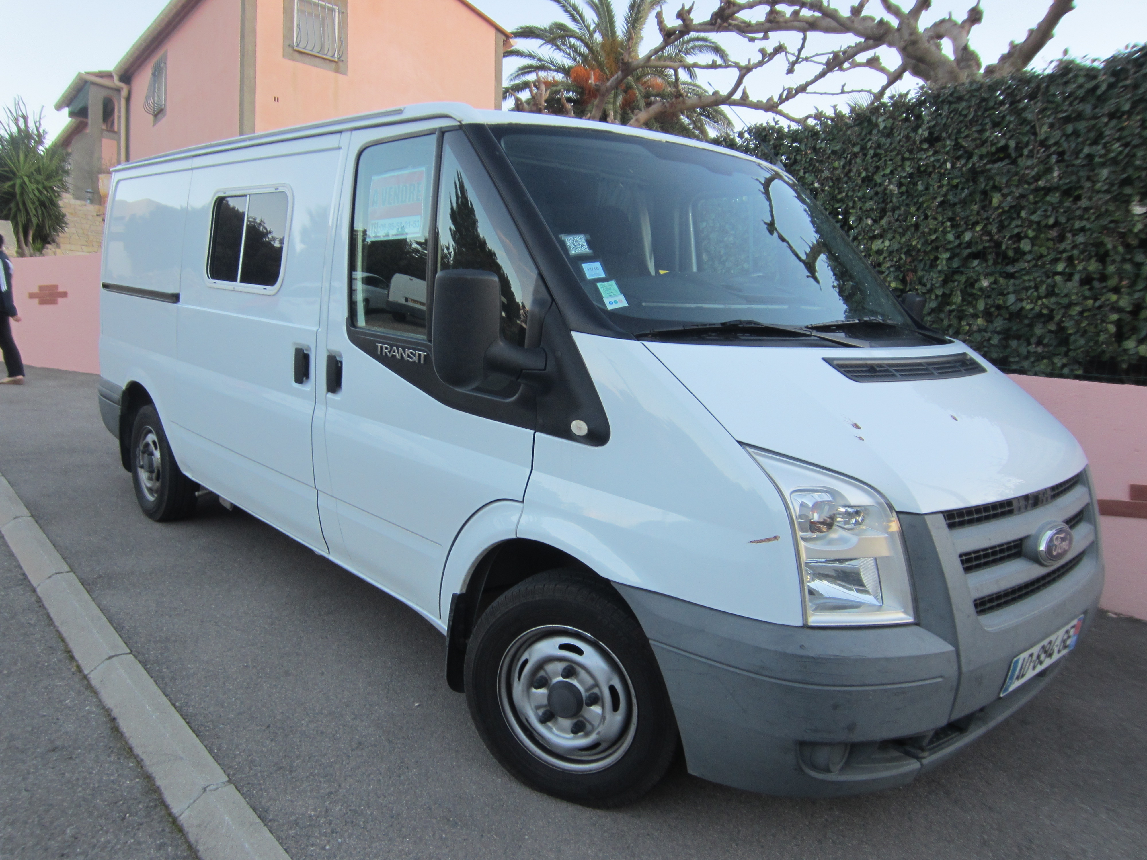 ford transit occasion de 2009 ford camping car en vente leucate aude 11. Black Bedroom Furniture Sets. Home Design Ideas
