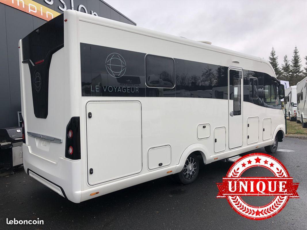 le voyageur signature neuf de 2018 - iveco - camping car en vente  u00e0 naintre  vienne
