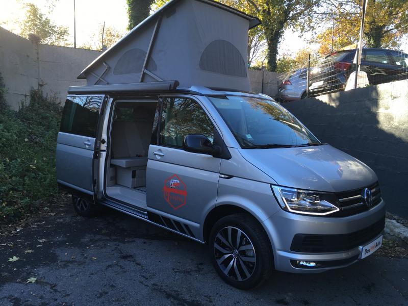 volkswagen california coast edition 2 0 tdi 204 dsg occasion de 2018 vw camping car en vente. Black Bedroom Furniture Sets. Home Design Ideas