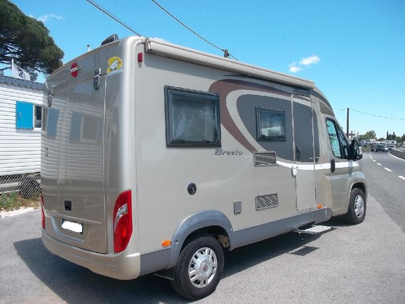 burstner brevio t 600 occasion de 2013 fiat camping car en vente roquebrune sur argens. Black Bedroom Furniture Sets. Home Design Ideas