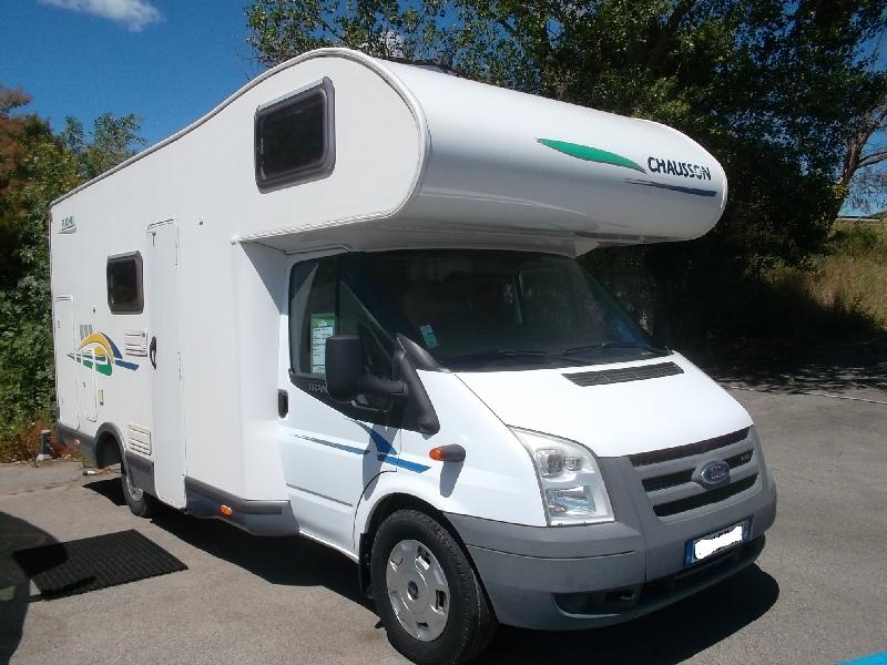 chausson flash 03 occasion de 2007 ford camping car en vente roquebrune sur argens var 83. Black Bedroom Furniture Sets. Home Design Ideas
