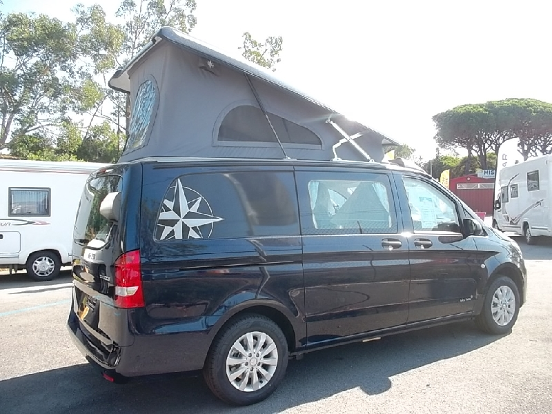 westfalia jules verne neuf de 2018 mercedes camping car en vente roquebrune sur argens var. Black Bedroom Furniture Sets. Home Design Ideas