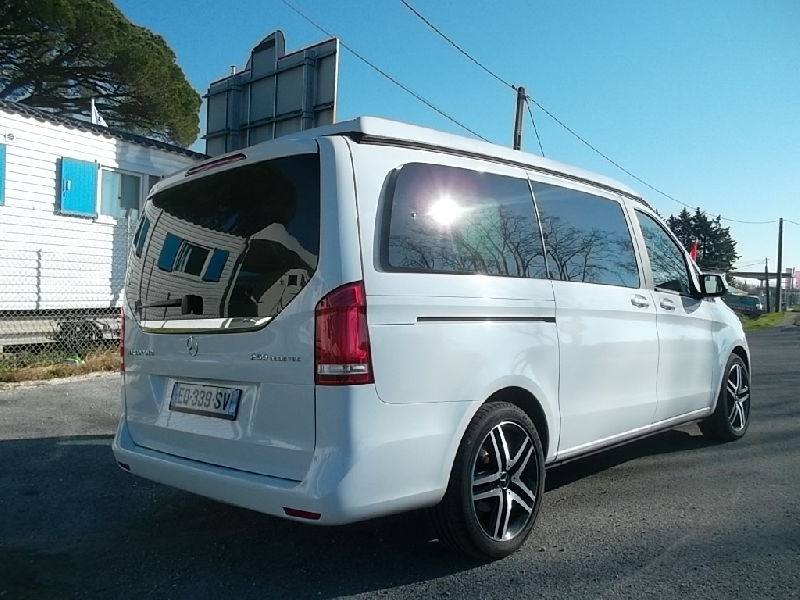 westfalia marco polo occasion de 2015 mercedes camping car en vente roquebrune sur argens. Black Bedroom Furniture Sets. Home Design Ideas