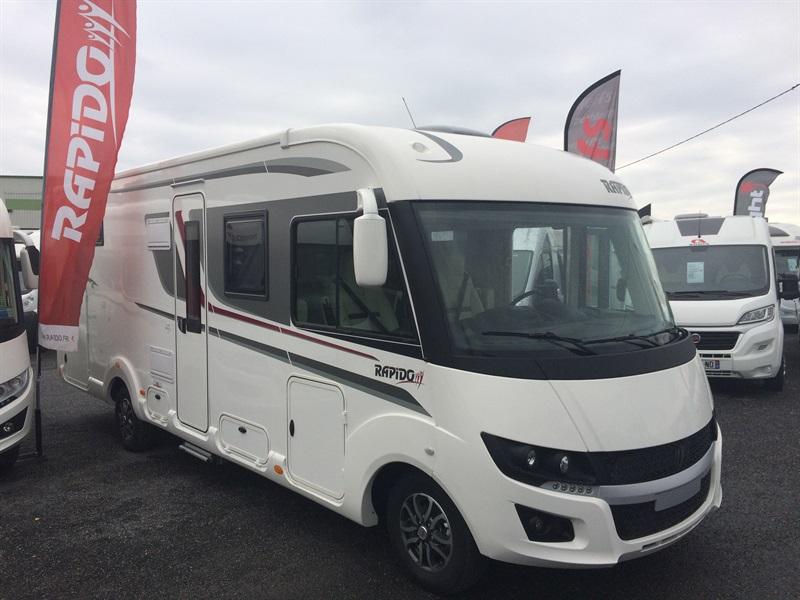 rapido 8096 df neuf de 2018 fiat camping car en vente. Black Bedroom Furniture Sets. Home Design Ideas