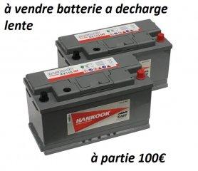 Batteries decharge logue