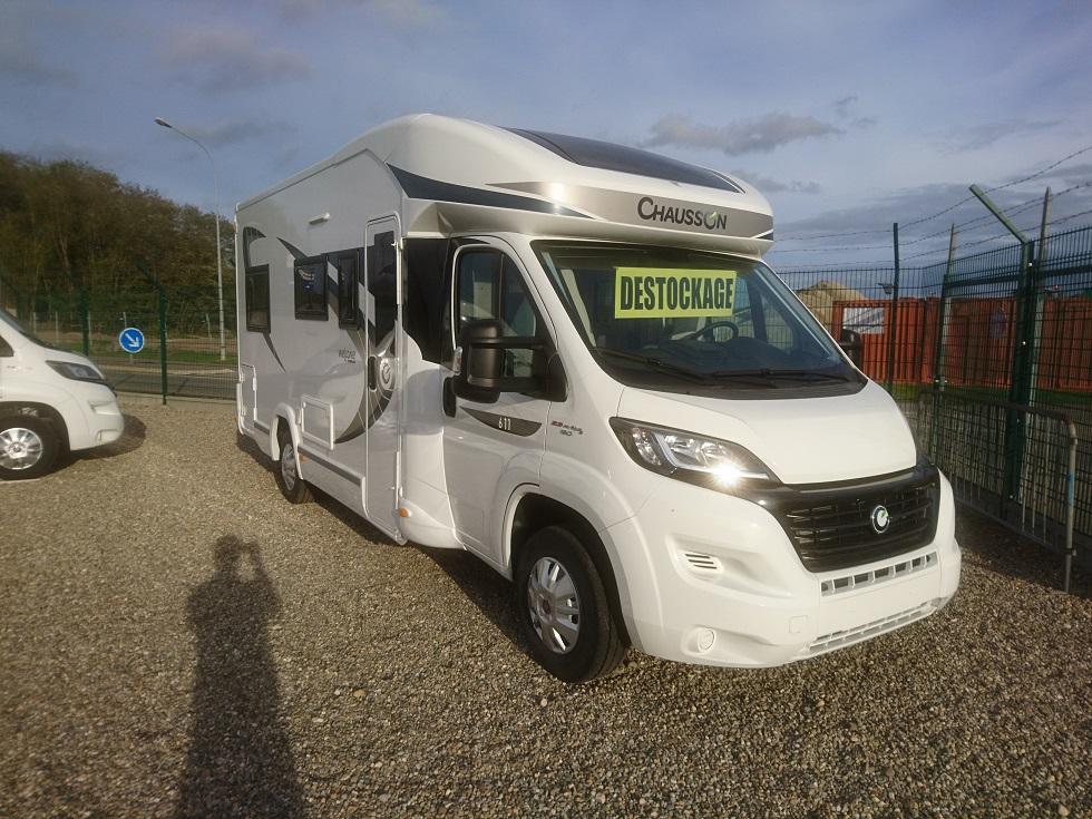 chausson welcome 611 neuf de 2017 fiat camping car en vente bernolsheim rhin 67. Black Bedroom Furniture Sets. Home Design Ideas