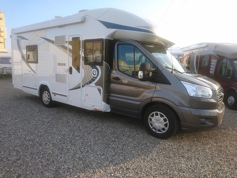 chausson welcome 737 occasion de 2016 ford camping car en vente bernolsheim rhin 67. Black Bedroom Furniture Sets. Home Design Ideas