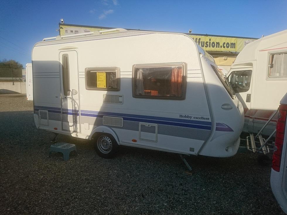 hobby 400 sf excellent occasion de 2008 caravane en vente bernolsheim rhin 67. Black Bedroom Furniture Sets. Home Design Ideas
