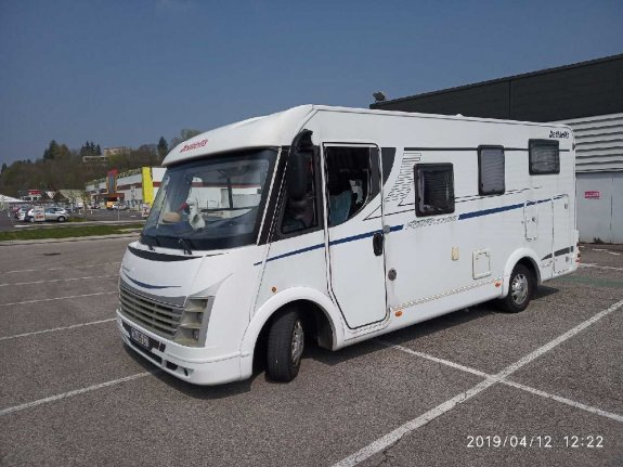 Occasion Dethleffs Advantage I 5871 vendu par CENTRAL CAMPER