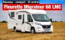 achat camping-car Fleurette Migrateur 68 Lmc