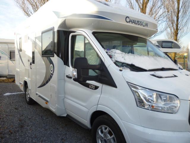 chausson flash 630 neuf de 2017 ford camping car en vente beauvois en cambr sis nord 59. Black Bedroom Furniture Sets. Home Design Ideas