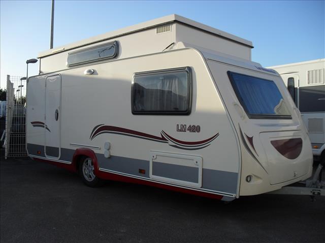 la mancelle 420 lm occasion de 2012 caravane en vente. Black Bedroom Furniture Sets. Home Design Ideas