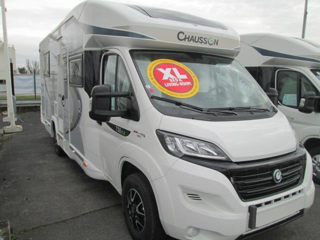 chausson titanium 738 xlb neuf de 2017 ducato camping car en vente trinqueux marne 51. Black Bedroom Furniture Sets. Home Design Ideas