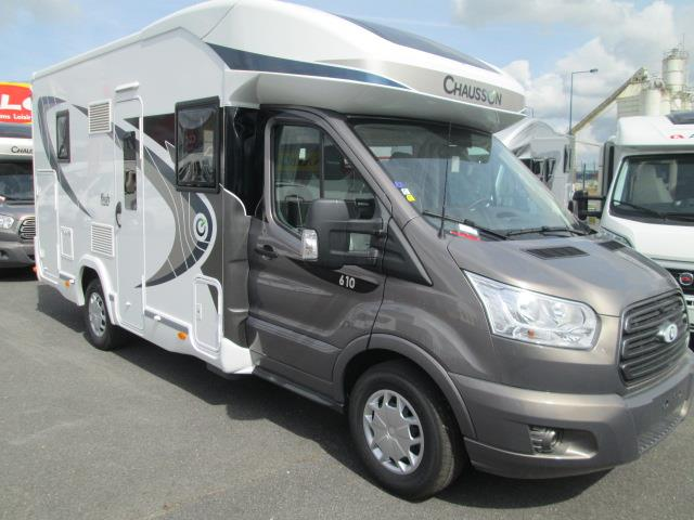 chausson welcome 610 neuf de 2017 ford camping car en vente trinqueux marne 51. Black Bedroom Furniture Sets. Home Design Ideas