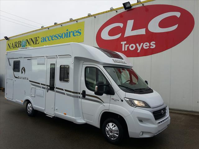 bavaria t 746 c class neuf porteur fiat 35l 2l3 mjet 130 euro 6 diesel camping car vendre en. Black Bedroom Furniture Sets. Home Design Ideas