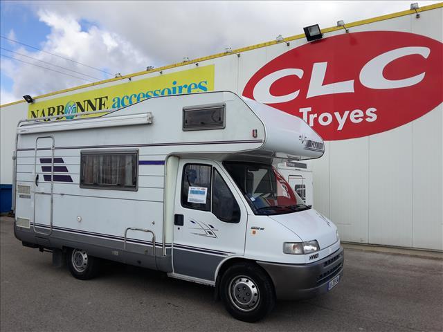 hymer camp 544 occasion porteur fiat ducato 2 5 l tdi 115 cv diesel camping car vendre en. Black Bedroom Furniture Sets. Home Design Ideas