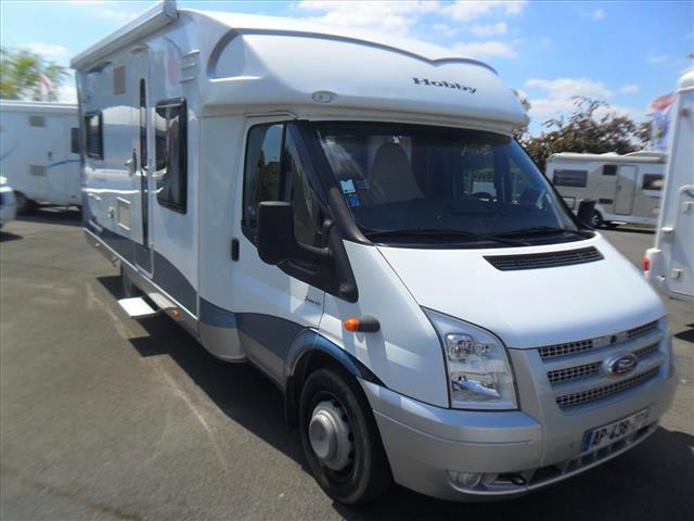 hobby siesta t 650 occasion de 2010 ford camping car en vente cauffry oise 60. Black Bedroom Furniture Sets. Home Design Ideas