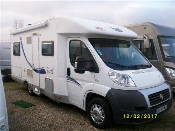 mc louis steel 463 occasion de 2009 fiat camping car en vente benfeld rhin 67. Black Bedroom Furniture Sets. Home Design Ideas