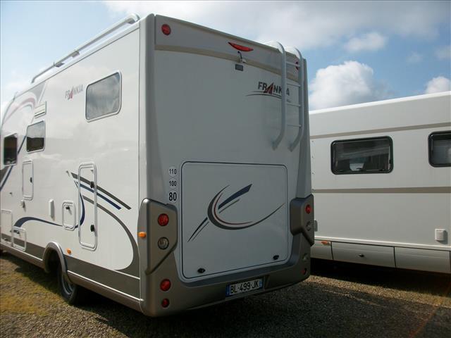 frankia t 7400 bd occasion de 2011 mercedes camping car en vente benfeld rhin 67. Black Bedroom Furniture Sets. Home Design Ideas