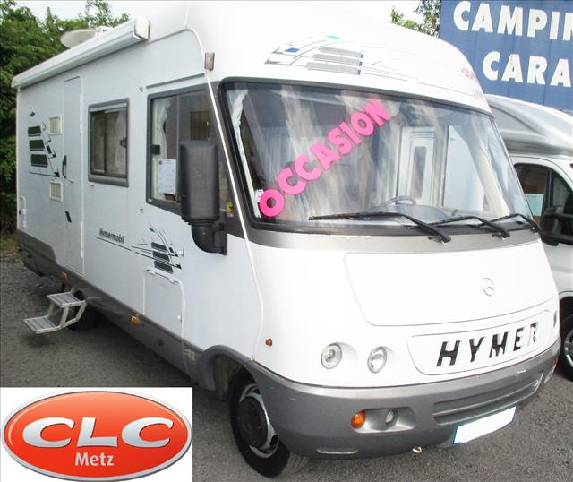 hymer s 660 occasion porteur mercedes 412 diesel camping car vendre en moselle 57 ref 78567. Black Bedroom Furniture Sets. Home Design Ideas