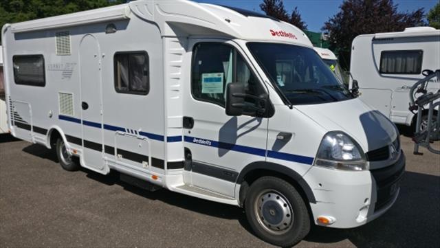 dethleffs globetrotter occasion de 2009 renault camping car en vente thaon les vosges. Black Bedroom Furniture Sets. Home Design Ideas