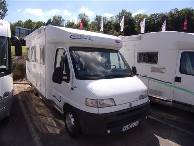 Eriba ft 544 occasion de 2001 fiat camping car en for Garage automobile thaon les vosges