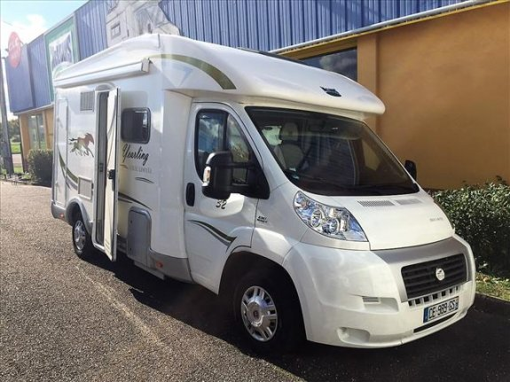 mc louis yearling 32 occasion de 2012 fiat camping car en vente velaine en haye meurthe. Black Bedroom Furniture Sets. Home Design Ideas