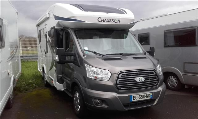 chausson welcome 610 occasion de 2017 ford camping car. Black Bedroom Furniture Sets. Home Design Ideas