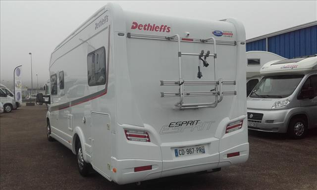 dethleffs esprit t 7150 eb luxe occasion de 2012 ducato camping car en vente jouy aux arches. Black Bedroom Furniture Sets. Home Design Ideas