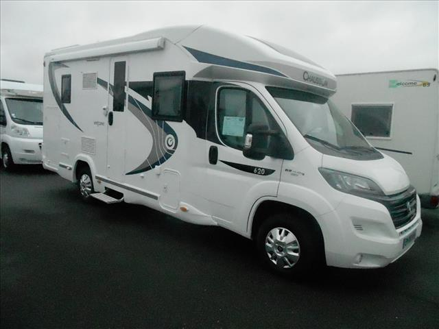 chausson welcome 620 occasion de 2017 ducato camping car en vente erquery oise 60. Black Bedroom Furniture Sets. Home Design Ideas