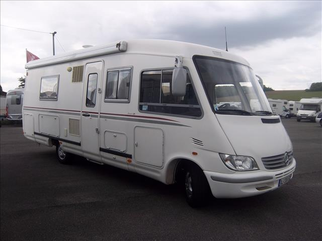 le voyageur lvx 8 splj occasion de 2006 mercedes camping car en vente erquery oise 60. Black Bedroom Furniture Sets. Home Design Ideas