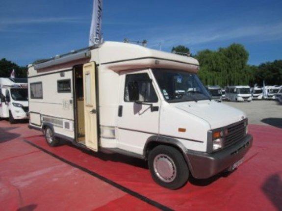 burstner c 25 occasion de 1990 citroen camping car en vente caen breteville sur odon. Black Bedroom Furniture Sets. Home Design Ideas