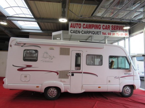 Occasion Rapido 986 F vendu par AUTO CAMPING CAR SERVICE