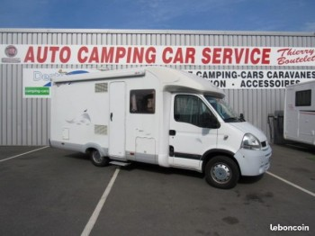 bavaria r 65 occasion de 2008 renault camping car en vente caen breteville sur odon. Black Bedroom Furniture Sets. Home Design Ideas