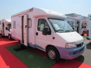 burstner t 580 marano occasion de 2006 fiat camping car en vente caen breteville sur. Black Bedroom Furniture Sets. Home Design Ideas