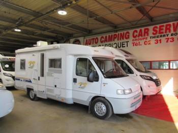 burstner t 604 occasion de 2000 fiat camping car en vente caen breteville sur odon. Black Bedroom Furniture Sets. Home Design Ideas