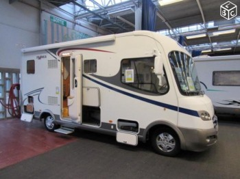 frankia compact class i 640 occasion de 2011 fiat camping car en vente caen breteville. Black Bedroom Furniture Sets. Home Design Ideas