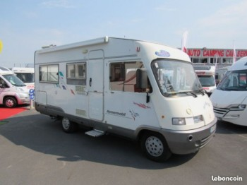 hymer b 574 occasion de 1997 fiat camping car en vente caen breteville sur odon. Black Bedroom Furniture Sets. Home Design Ideas