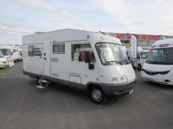 hymer b 575 occasion de 2003 mercedes camping car en vente caen breteville sur odon. Black Bedroom Furniture Sets. Home Design Ideas