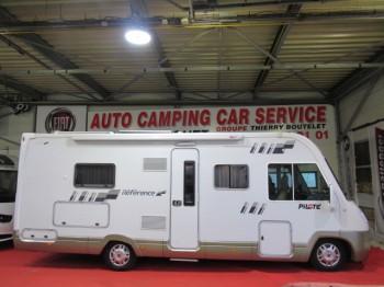 pilote reference g 740 occasion de 2010 fiat camping car en vente caen breteville sur. Black Bedroom Furniture Sets. Home Design Ideas