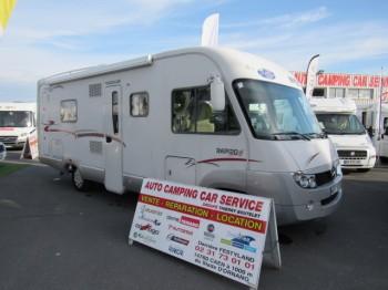 rapido 999 m occasion de 2007 mercedes camping car en vente caen breteville sur odon. Black Bedroom Furniture Sets. Home Design Ideas