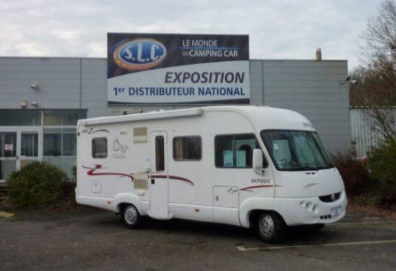 Occasion Rapido 985 F vendu par SLC 44 - LE MONDE DU CAMPING-CAR