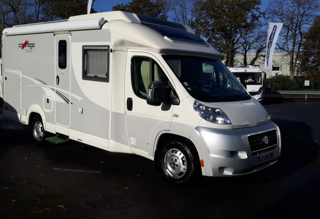 carthago c tourer 145 occasion de 2013 fiat camping car en vente st etienne de montluc. Black Bedroom Furniture Sets. Home Design Ideas