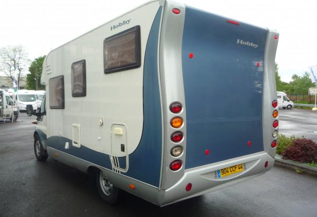 hobby 600 gfs occasion de 2006 ford camping car en vente st etienne de montluc loire. Black Bedroom Furniture Sets. Home Design Ideas