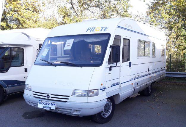 pilote galaxy 88 mx occasion de 1998 fiat camping car. Black Bedroom Furniture Sets. Home Design Ideas