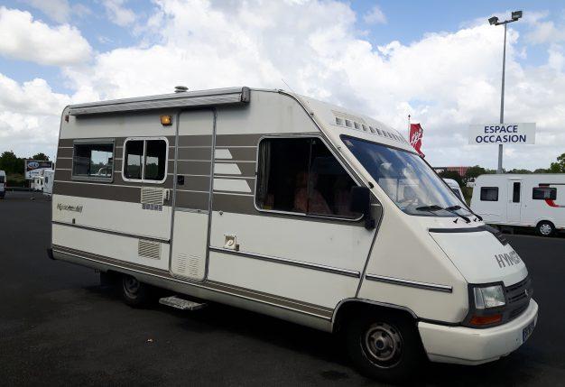 hymer 510 occasion de 1992 renault camping car en. Black Bedroom Furniture Sets. Home Design Ideas