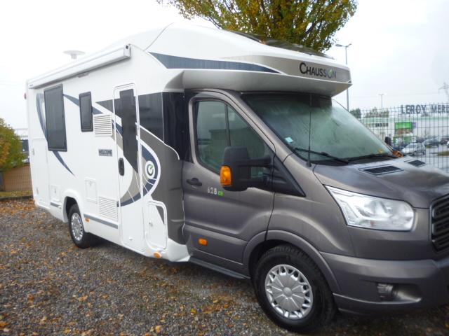 chausson welcome 628 eb occasion porteur ford 2 2 155 cv diesel camping car vendre en nord. Black Bedroom Furniture Sets. Home Design Ideas
