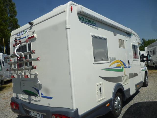 chausson welcome 74 occasion de 2007 autres camping car en vente louvroil nord 59. Black Bedroom Furniture Sets. Home Design Ideas