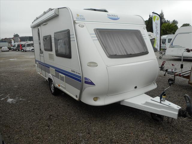 hobby de luxe 400 sf occasion de 2009 caravane en vente seclin nord 59. Black Bedroom Furniture Sets. Home Design Ideas