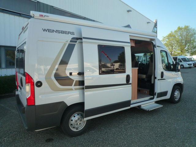 weinsberg carabus 601 mq occasion de 2017 fiat camping car en vente merignac gironde 33. Black Bedroom Furniture Sets. Home Design Ideas